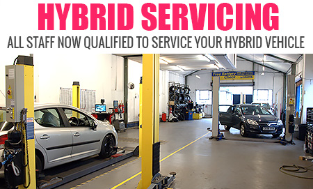 Hybrid Servicing: All staff are now fully trained to service your hybrid vehicle