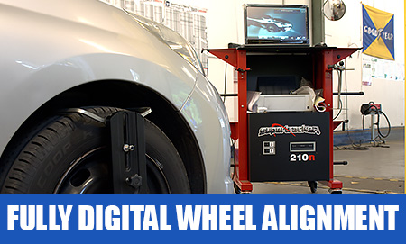 Fully Digital wheel alignment